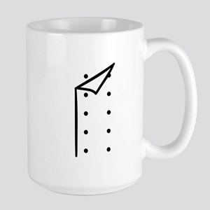 Chef uniform Large Mug
