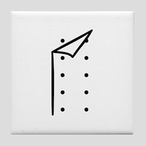 Chef uniform Tile Coaster