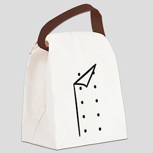 Chef uniform Canvas Lunch Bag