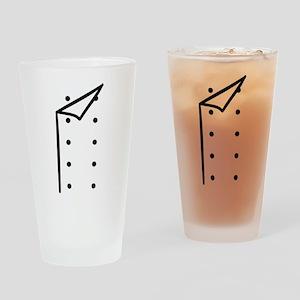 Chef uniform Drinking Glass