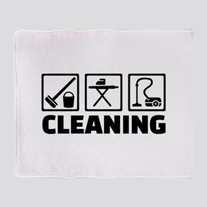 Cleaning housekeeping Throw Blanket