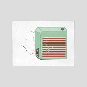 Heater 5'x7'Area Rug