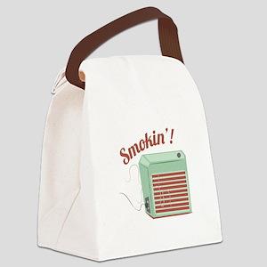 Smokin Canvas Lunch Bag