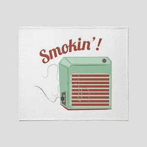 Smokin Throw Blanket