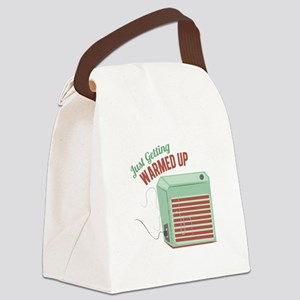 Warmed Up Canvas Lunch Bag