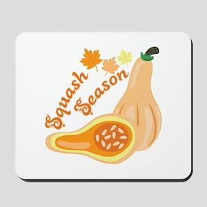 Squash Season Mousepad