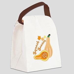 Squash Season Canvas Lunch Bag