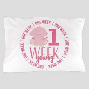 One Week Old Pillow Case