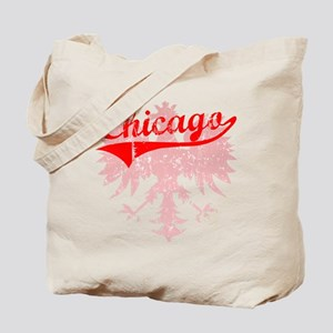 Chicago Polish w/Eagle Tote Bag