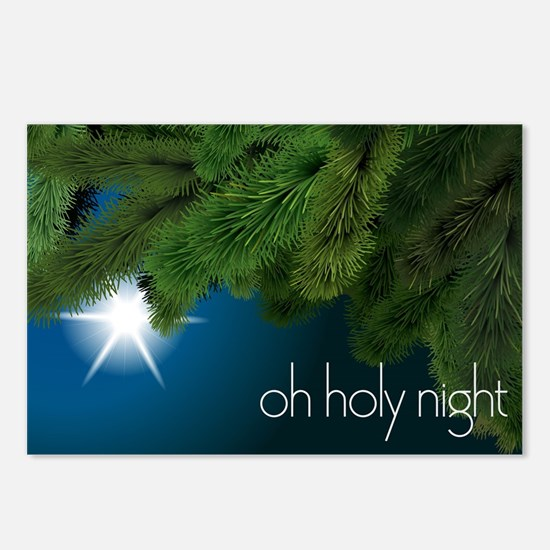 Oh Holy Night Postcards (Package of 8)