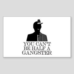 Boardwalk Empire: Half Gangsta Sticker