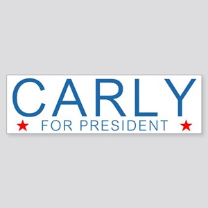 Carly For President Bumper Sticker