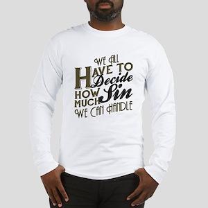 Boardwalk Empire: How Much Sin Long Sleeve T-Shirt