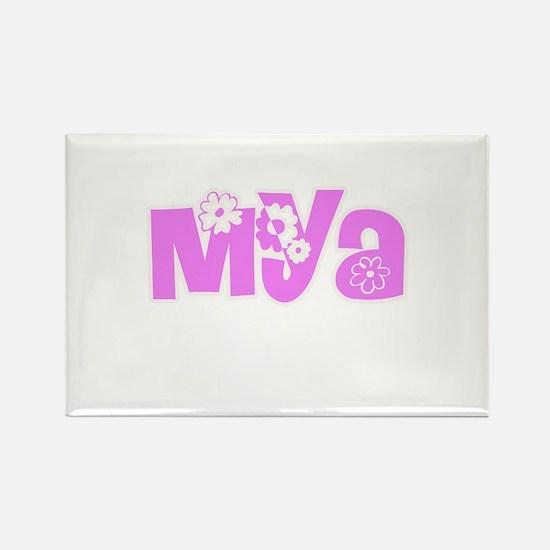 Mya Flower Design Magnets