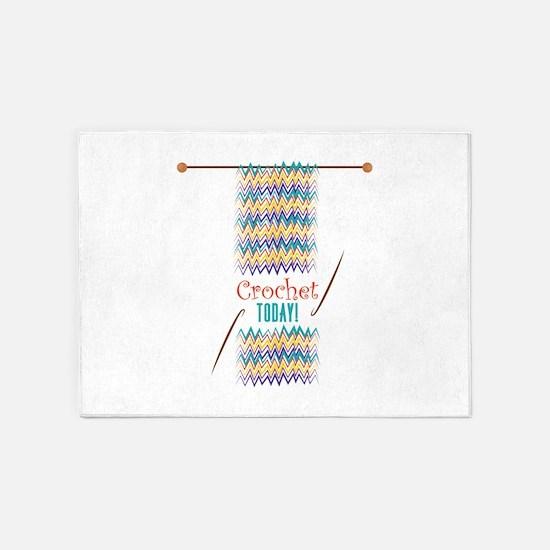 Crochet Today 5'x7'Area Rug