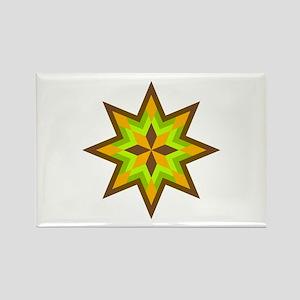 Native Stars Rectangle Magnet