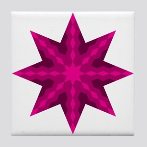 Native Stars Tile Coaster
