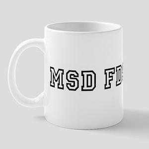 msd fdsaksdf Mug