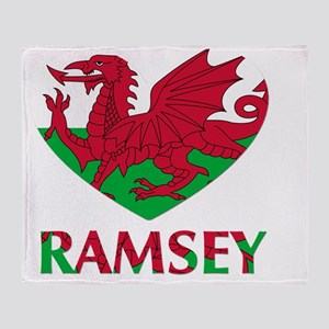 I Heart Ramsey Throw Blanket