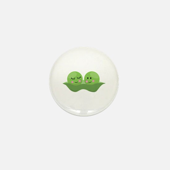 Peas In Pod Mini Button