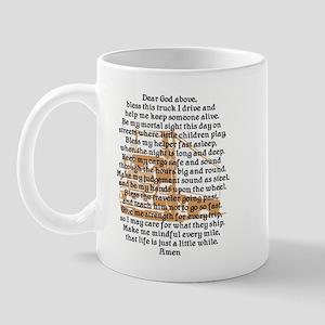 Truck Driver's Prayer Mug