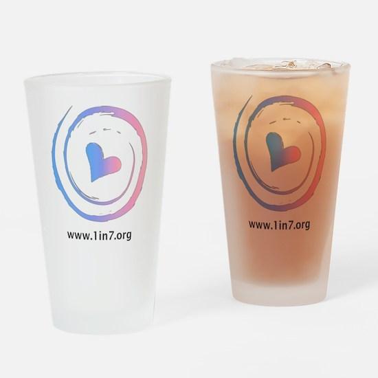 Infertility Symbol Drinking Glass