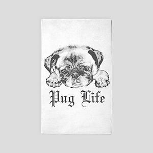 Pug Life 2 Area Rug