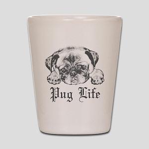 Pug Life 2 Shot Glass