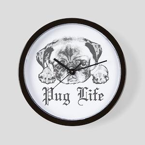 Pug Life 2 Wall Clock