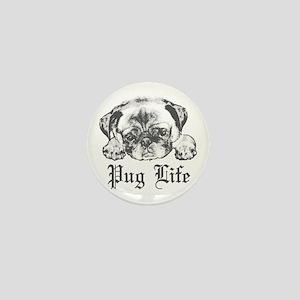 Pug Life 2 Mini Button
