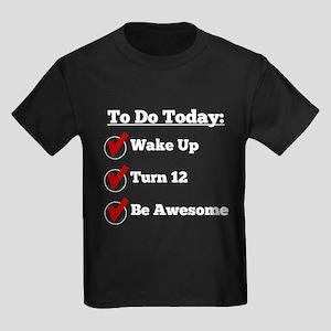12th Birthday Checklist T-Shirt