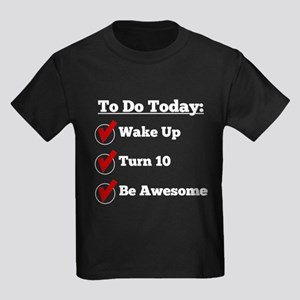 10th Birthday Checklist T-Shirt