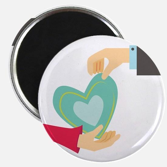 Valentine Heart Magnets