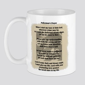 Policeman's Prayer Mug