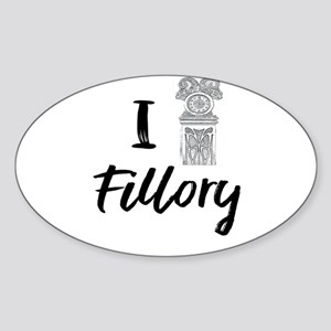 I (Clock) Fillory Sticker
