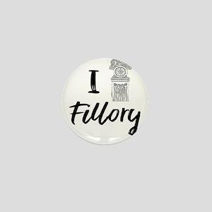 I (Clock) Fillory Mini Button