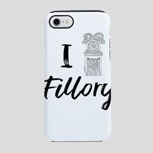 I (Clock) Fillory iPhone 7 Tough Case