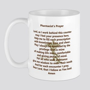 Pharmacist's Prayer Mug