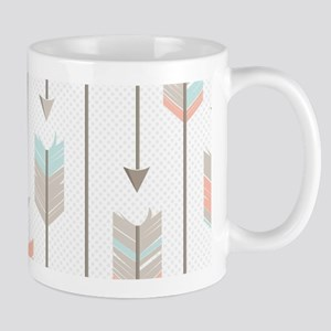 Bohemian Tribal Arrows Pattern Mug