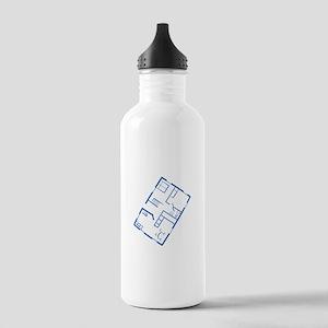 Floor Plan Water Bottle