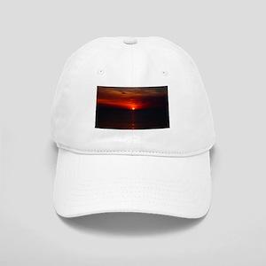 Deep color sunset Cap