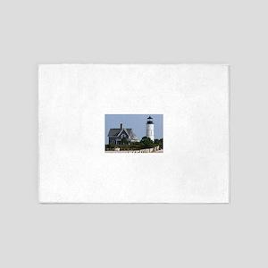Cape Cod Lighthouse 5'x7'Area Rug