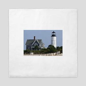 Cape Cod Lighthouse Queen Duvet