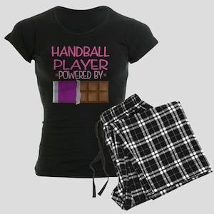 Handball Player Women's Dark Pajamas