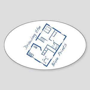 The Blue Prints Sticker