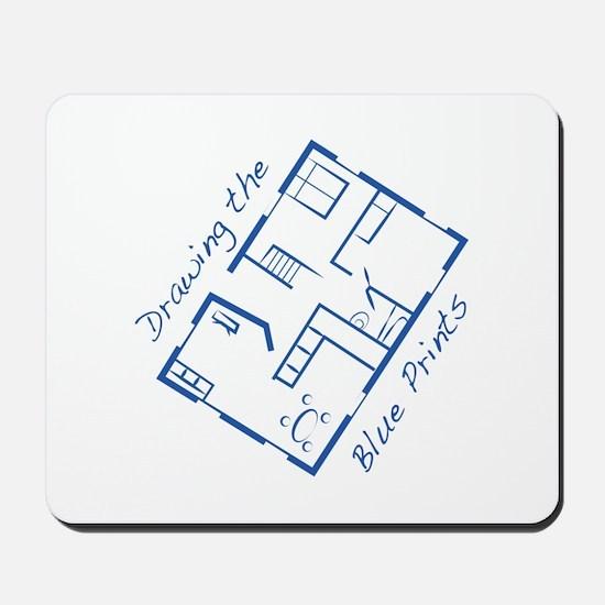 The Blue Prints Mousepad