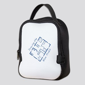 The Blue Prints Neoprene Lunch Bag