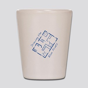 The Blue Prints Shot Glass