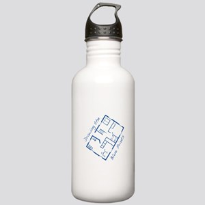 The Blue Prints Water Bottle