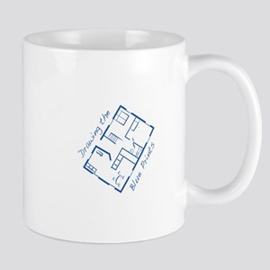 The Blue Prints Mugs